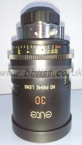 "Optica Elite 30mm HD Prime T1.5 B4 2/3"" Prime Lens"