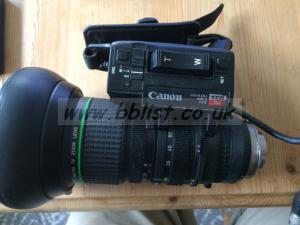 Canon Video Camera Lens J15x9 5B4