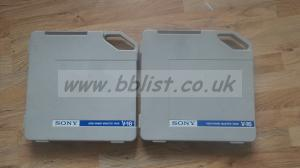 "2x SONY V-16 (V16) 1"" High Band Tape Reels (New)"