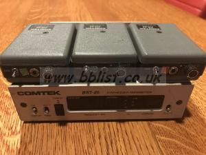 Comtek BST-25 and 3x PR-25 receivers