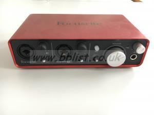 Focusrite 2i 2 - USB Recording Interface