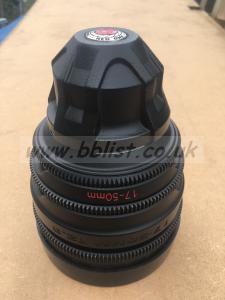 Red 17-50mm T2.9 aperture Zoom Lens w/ PL Mount