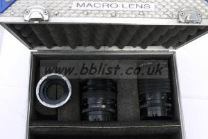 Mamiya 80mm and 120mm Macros lens with B4 Adaptor