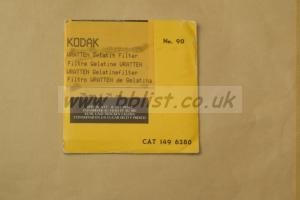 Wratten Kodak Gelatin Filter no.90