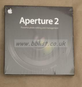 Apple's APERTURE 2 software
