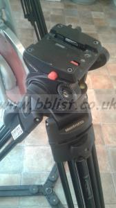 Manfrotto 501 HDV Tripod and Bag (1 of 2)