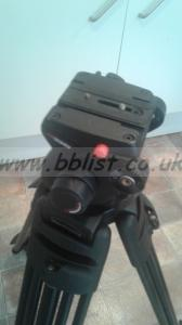 Manfrotto 503 HDV Tripod and bag (2 of 2)