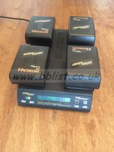 Anton Bauer Quad Charger & Gold mount batteries