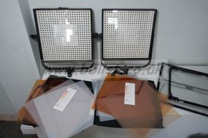 LitePanels x 2 LED Daylight in Case