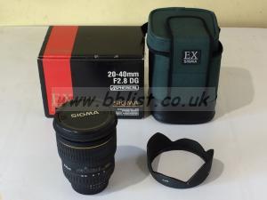 Sigma 20-40mm F2.8 DG