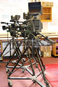 3X JVC GY-251 ProHD Studio Camera Chains