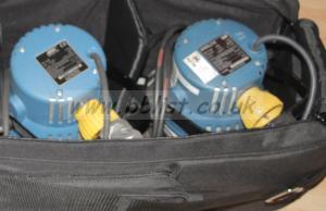Arri lighting kit 2x 800w & 300w fresnel in bag