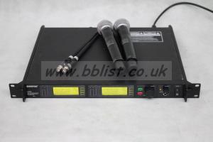 Shure UR4D Wireless Kit