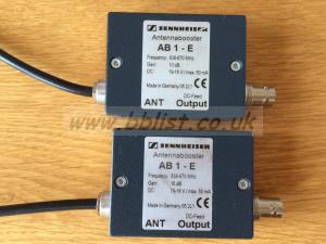 Sennheiser AB 1-E Antenna Boosters x2