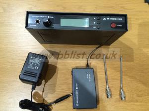 Sennheiser EW 500 G1 Transmitter and Receiver set