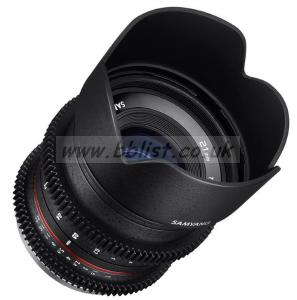 Samyang 21mm T1.5 Cine DS Lens for Micro Four T