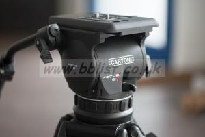Vinten tripod / Cartoni Focus 12 - new fluid head