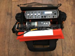 Portable Mixer, Digital Recorder and Bag
