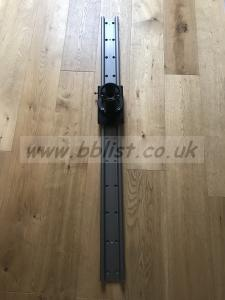 4ft Glidetrack slider with 100mm bowl