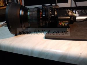 Fujinon A14 2/3 lens