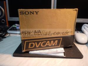 Sony and Fujifilm  DVCAM tape 184 min Duration