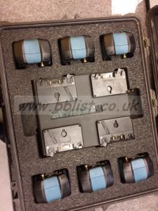 Anton Bauer 6x G150 & LP4 battery kit