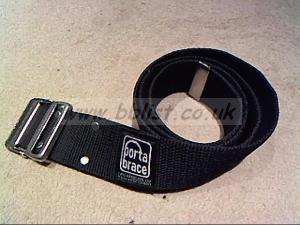 "2x Portabrace 2"" Cordura belts"