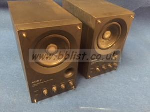 Sony SMS-1P Monitor speakers