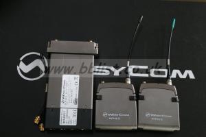 Wisycom MCR42S Receiver and X2 Transmitter Kit