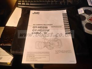 Jvc gyhd 250 251 camcorder manual