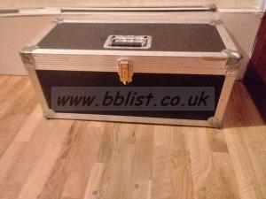 Flight case for jvc gyhd range of camcorders