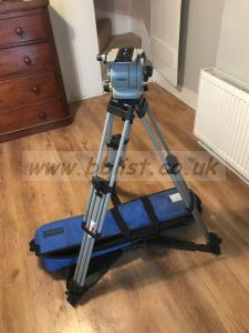 Vinten Vision 100 head, tripod, bag