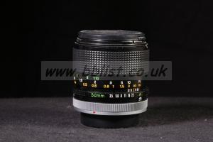 Canon FD 50mm f/3.5 S.S.C. macro