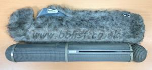 Sennheiser 816T in Rycote windshield