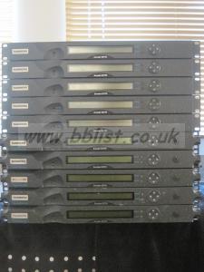 15 x E5770 Multi-Pass MPEG-2 SD Encoders.