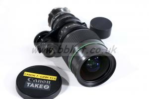 Canon 7-63mm T2.6 S16 Zoom