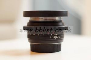 Cinemodded Carl Zeiss Planar T* 50mm f/1.4