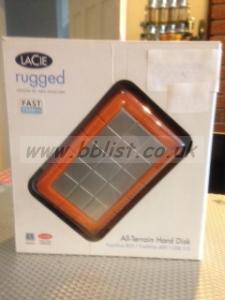 Lacie Rugged All Terrain Hard Disk 120Gb Firewire 400 / 800