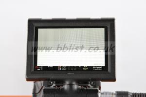 Red 5in LCD Touchscreen Monitor