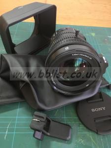 Sony 18-110 F4 OSS G Lens