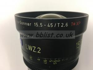 Zeiss 15.5-45mm, T.2.6, Compact Light Weight Zoom