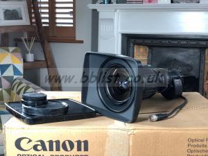 Canon HJ11ex4.7B IRSE wideangle lens