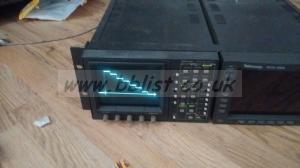 Tektronix WFM-601 SD video scope