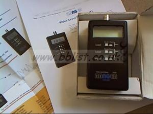 Ranger pocket video level meter.