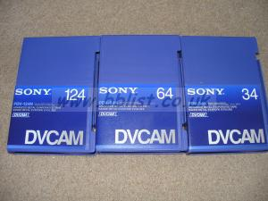 DVCam tapes. New