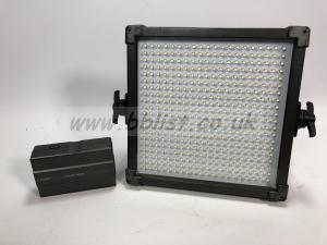 F&V K4000S Bi-Color LED Studio Light mains and battery power