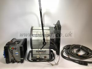Filmgear 4k compact Daylight HMI with 2.5/4k electronic ball