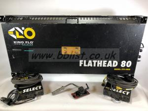 Kino flo flathead 80 lighting kit, case, ballasts,header etc
