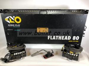 Kino flo flathead 80 lighting kit, case, ballasts,header etc