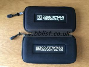 Countryman associates microphone cases